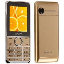 Мобильный телефон Maxvi X300 (золото)