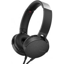 Наушники-гарнитура Sony MDR-XB550AP (черный)