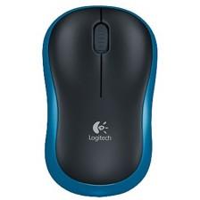 Мышь Logitech M185 / 910-002240 (черный/красный)