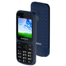 Мобильный телефон Maxvi C15 (маренго/черный)
