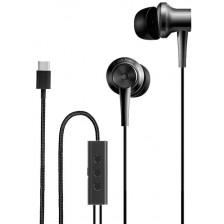 Наушники-гарнитура Xiaomi Mi ANC & Type-C In-Ear Earphones ZBW4382TY (черный)