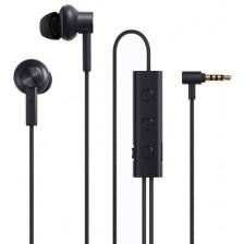 Наушники-гарнитура Xiaomi Mi Noise Canceling Earphones JZEJ02JY / ZBW4386TY (черный)