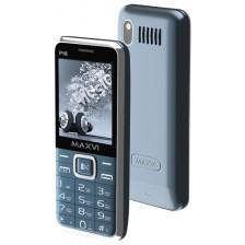 Мобильный телефон Maxvi P16 (серебристый)