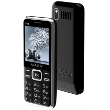 Мобильный телефон Maxvi P16 (черный)