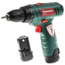 Аккумуляторная дрель-шуруповерт Hammer Flex ACD12/2LE