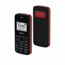 Мобильный телефон Maxvi С23 (черный/красный)