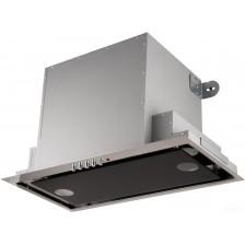 Вытяжка скрытая Akpo Neva Glass 60 WK-4 (черный/нержавеющая сталь)