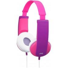 Наушники JVC HA-KD5 (розовый/фиолетовый)
