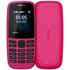 Мобильный телефон Nokia 105 Dual 2019 / TA-1174 (розовый)