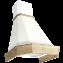 Вытяжка купольная Elikor Камин Грань 90П-650-П3Л (бежевый/дуб неокрашенный)