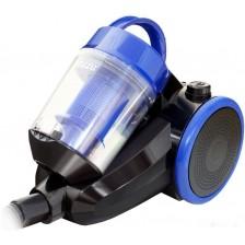 Пылесос Ginzzu VS422 (черный/синий)