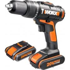 Аккумуляторный шуруповерт Worx WX371.1