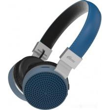 Наушники-гарнитура Ritmix RH-460BTH (синий)