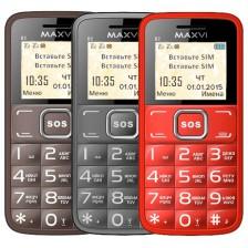 Мобильный телефон Maxvi B2 (кофейный)