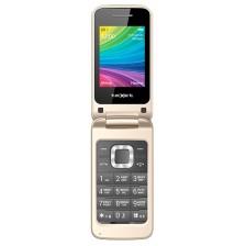 Мобильный телефон Texet TM-204 (бежевый)